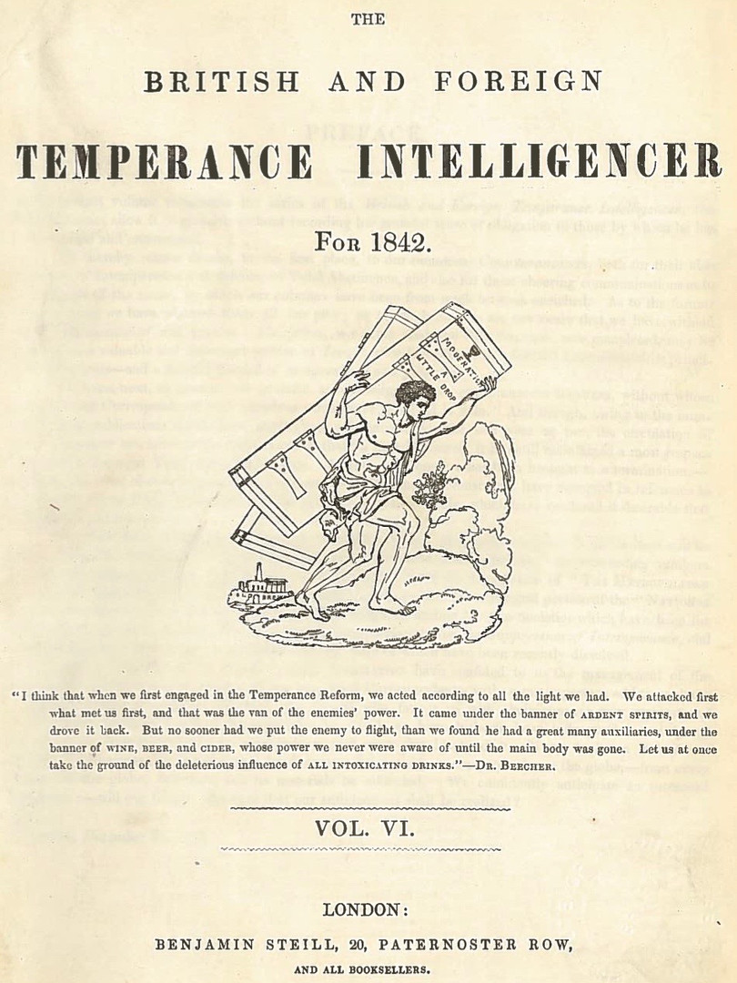 The British and Foreign Temperance Intelligencer for 1842