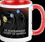 Red Coffee Mug Back