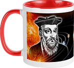Red Coffee Mug Front