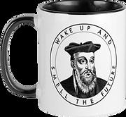 White Coffee Mug Front