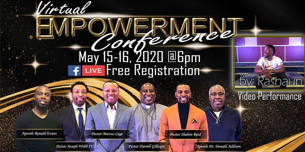 Virtual EMPOWERMENT CONFERENCE facebook LIVE