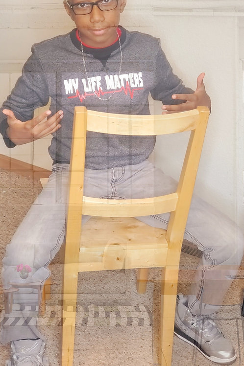 ''My Life Matters'' youth sweater