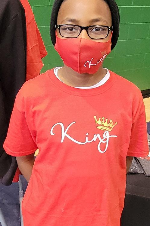 ''King'' Youth T-shirt Short Sleeve