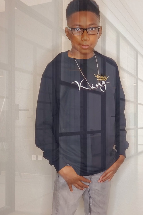 '' King'' Youth Sweater