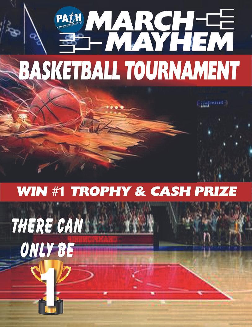 march mayhem basketball tournement 2020.