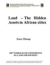 Cover Gora Mboup 740 Land Hidden Assets