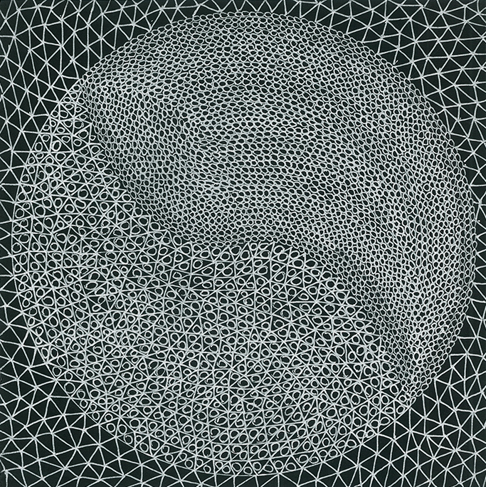 Nine x Nine/34 by Norman Galinsky, Fine Artist