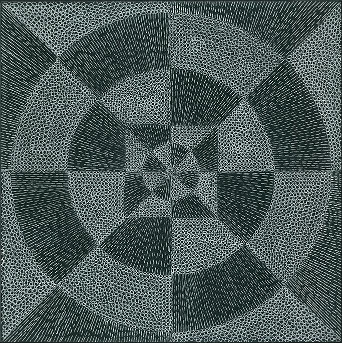 Nine x Nine/27 by Norman Galinsky, Fine Artist