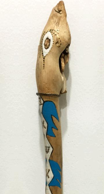 Snake Goddess Wand