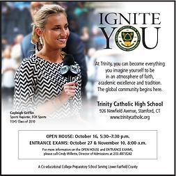 Trinity HS - Advertising - Ignite You (Sq)