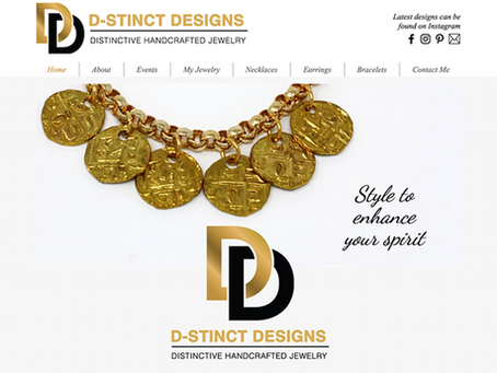 Featuring D-Stinct Designs, Handcrafted Jewelry by G. Denise Barksdale