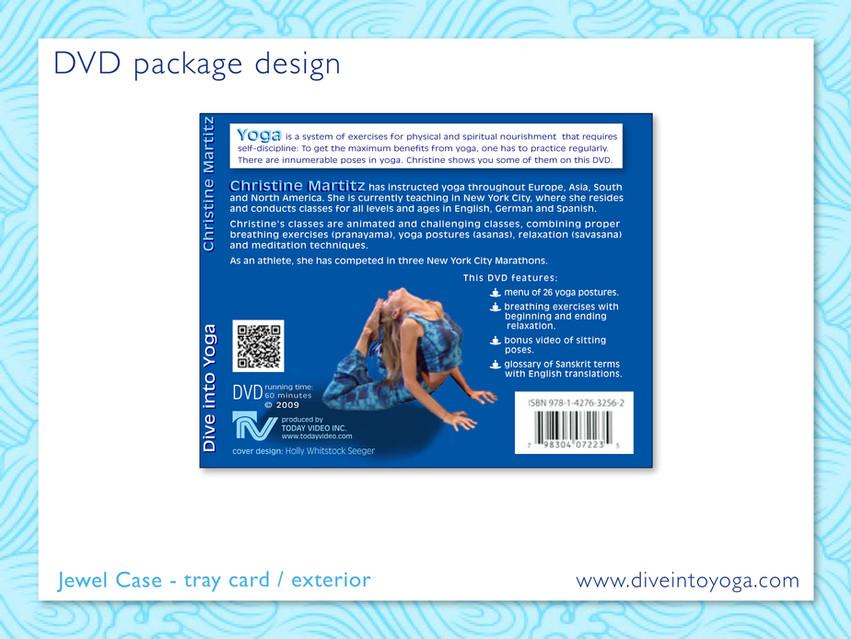 DVD package Design