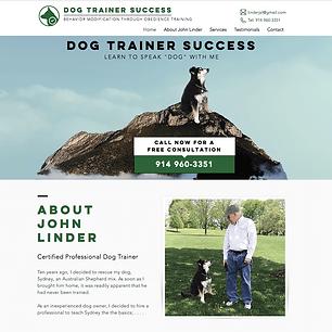Dog Trainer Success