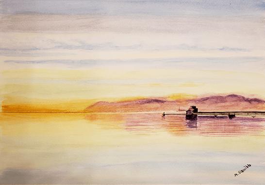 Haverstraw Bay at Dawn