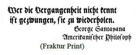 Fraktur print example