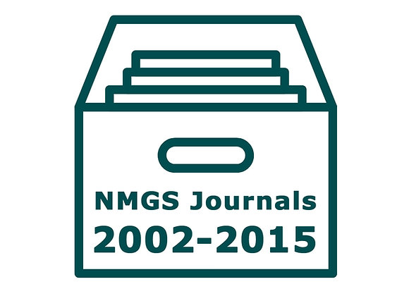 NMGS Journal Archives 2002-2015