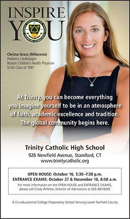 Trinity HS - brochure front