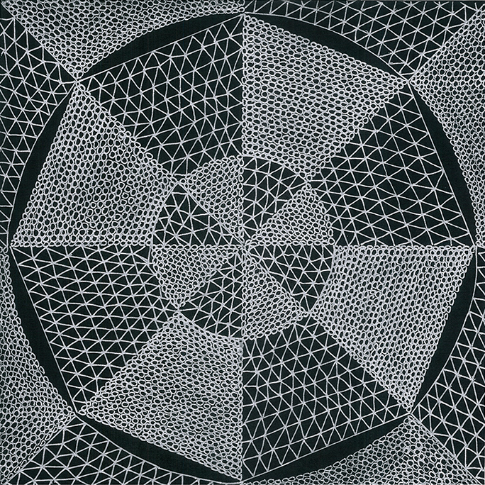Nine x Nine/28 by Norman Galinsky, Fine Artist