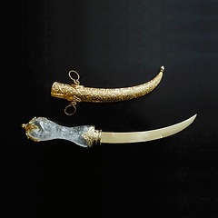 Gold and Jeweled Jambiya
