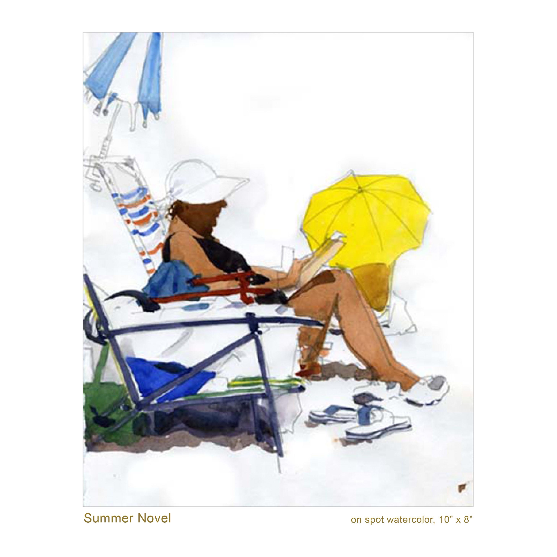 Summer Novel (on the spot)