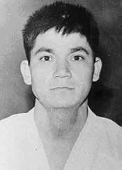 Master Ueshiro as a young man in Okinawa