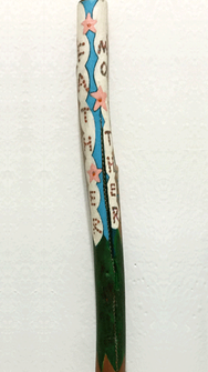 Mother Father Spirit Wand