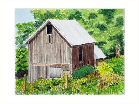 Little Brown Barn
