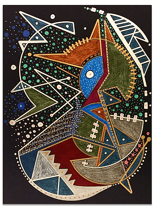 Mindy Seeger Vibrational Art