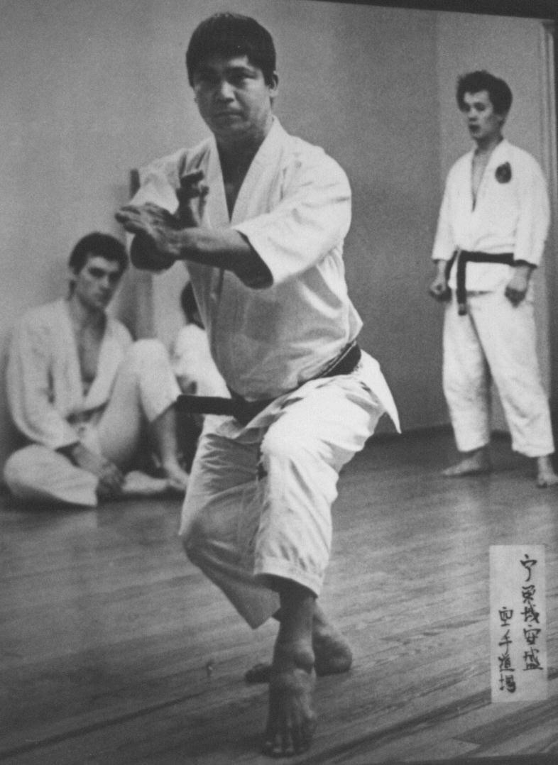 Performing Kata Chinto