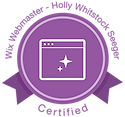 Holly W Seeger, Wix Certifed Web