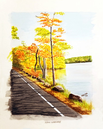 Fall Lakeside
