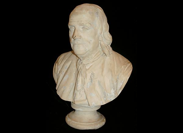Bust of Benjamin Franklin