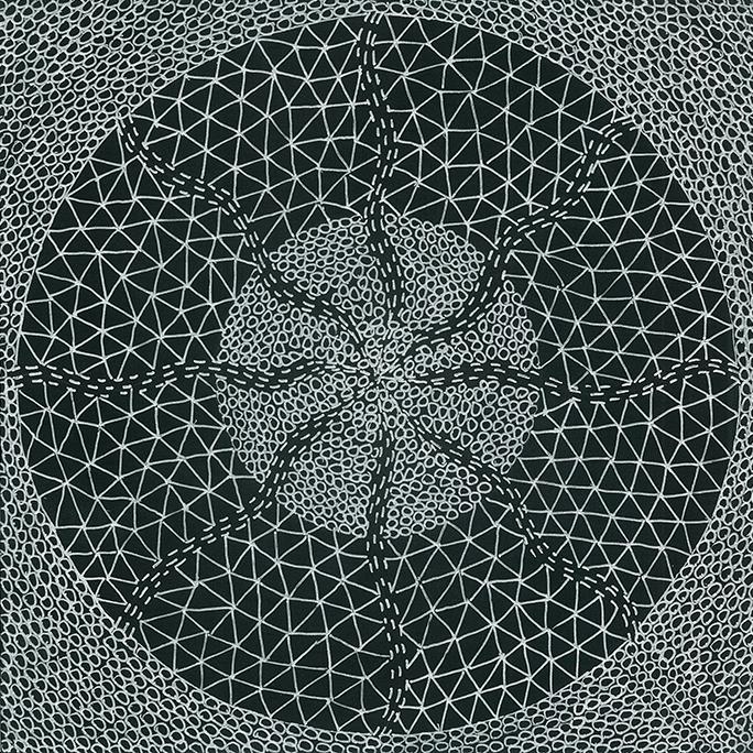 Nine x Nine/57 by Norman Galinsky, Fine Artist