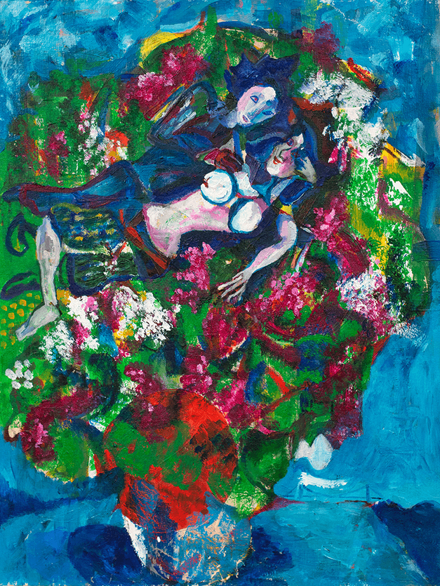 Chagall's Lovers