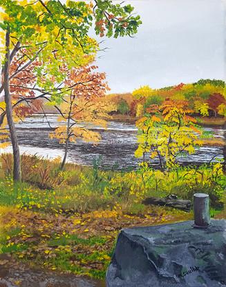Autumn Colors, Lake Silvermine