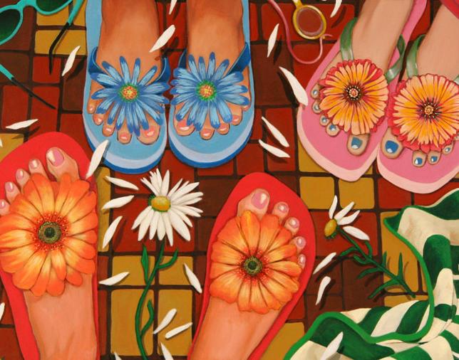 Flower Feet