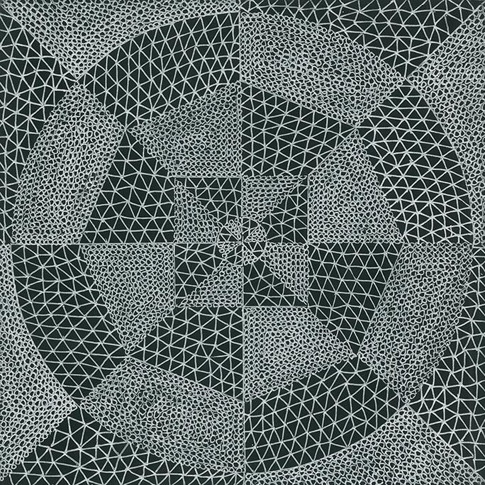 Nine x Nine/31 by Norman Galinsky, Fine Artist