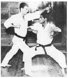 Master Ueshiro and Sensei James Wax