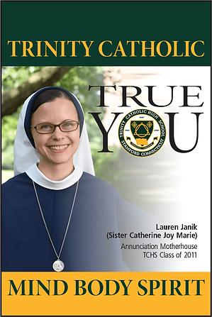 Trinity Catholic Outside Banner