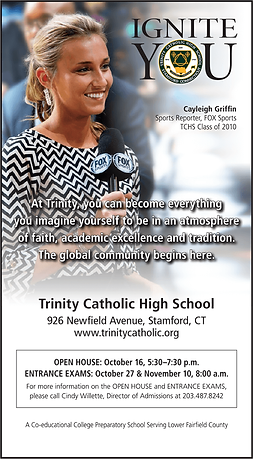 Trinity HS - Advertising - Ignite You