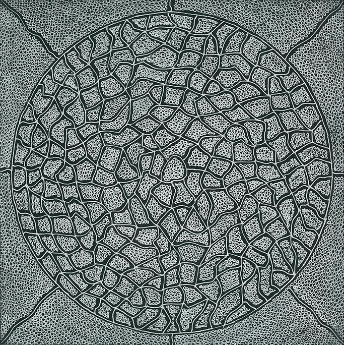Nine x Nine/43 by Norman Galinsky, Fine Artist