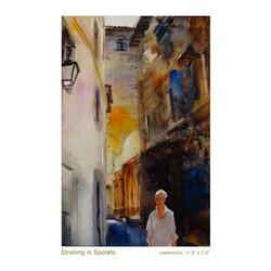 Strolling in Spoleto