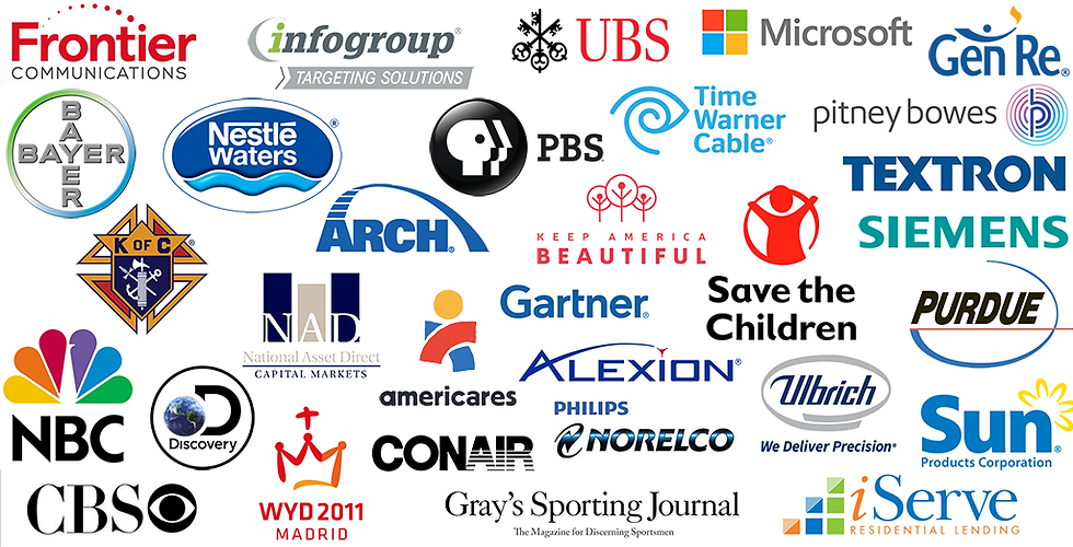 Examples of Business Communicatios cMMC Communications clients of