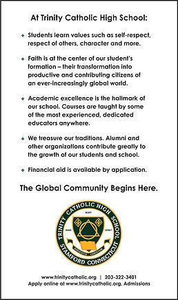 Trinity HS - brochure back