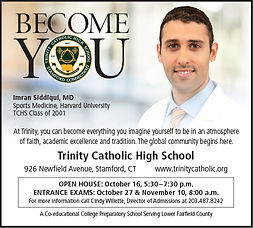 Trinity HS - Advertising - Become You (sq)