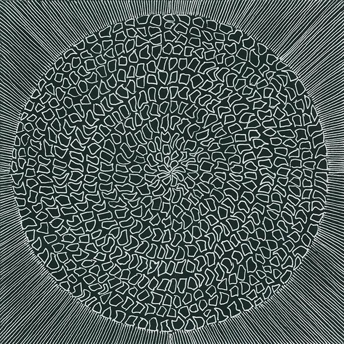 Nine x Nine/55 by Norman Galinsky, Fine Artist