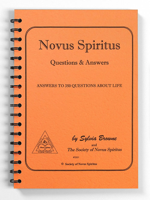 Novus Spiritus: Questions and Answers