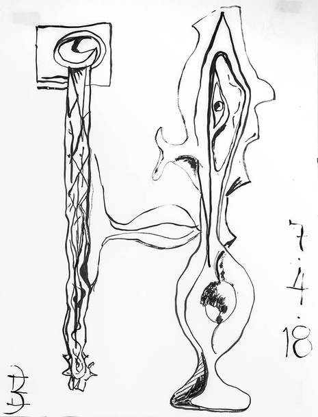 Brush & Ink 09