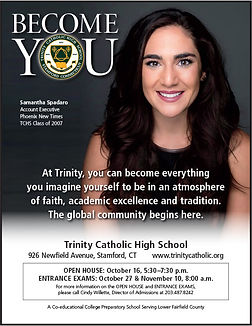 Trinity HS - Advertising - Become You