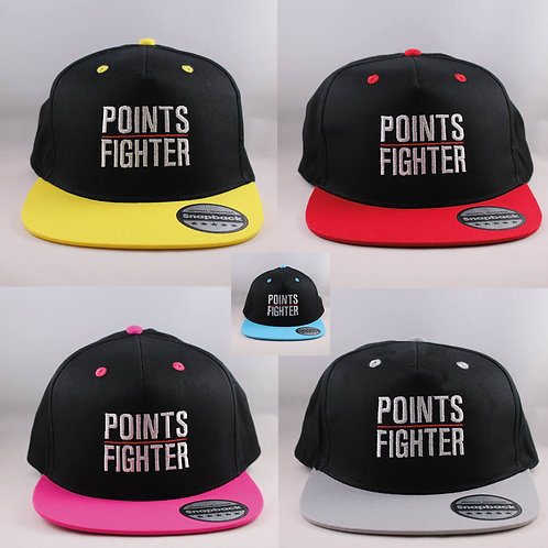 x5 BUNDLE - Points Fighter Snapback